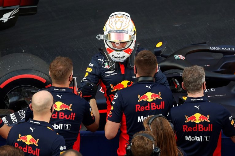 F1 | レッドブル代表「フェルスタッペンは賢く戦い、2番手という驚くべき結果を達成した」【F1第10戦予選】