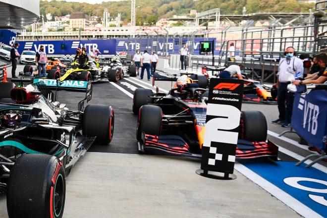 2020年F1第10戦ロシアGP マックス・フェルスタッペン(レッドブル・ホンダ)が予選2番手を獲得