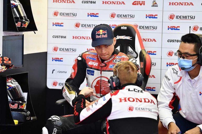 MotoGP   中上「Q2では新品タイヤが1本しかなく11番手がやっとでした」/MotoGP第9戦カタルーニャGP予選