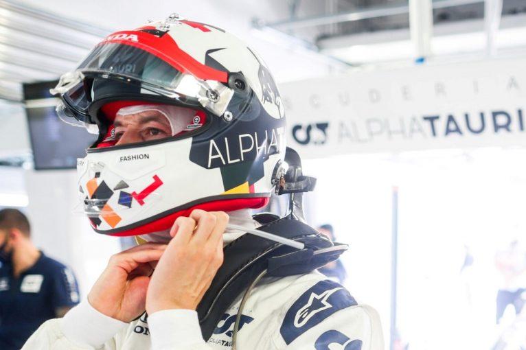 F1 | クビアト「赤旗がなければQ3に進めた。決勝ではチャンスを逃さず戦う」アルファタウリ・ホンダ【F1第10戦予選】