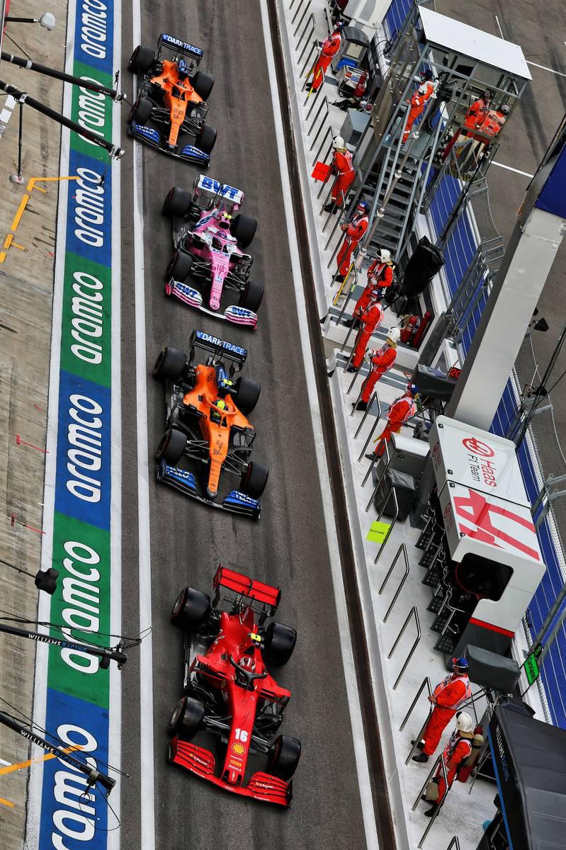 2020年F1第10戦ロシアGP