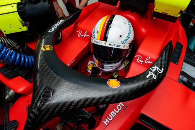 2020年F1第10戦ロシアGP セバスチャン・ベッテル(フェラーリ)