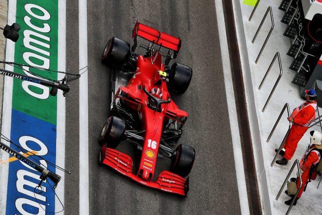 2020年F1第10戦ロシアGP シャルル・ルクレール(フェラーリ)