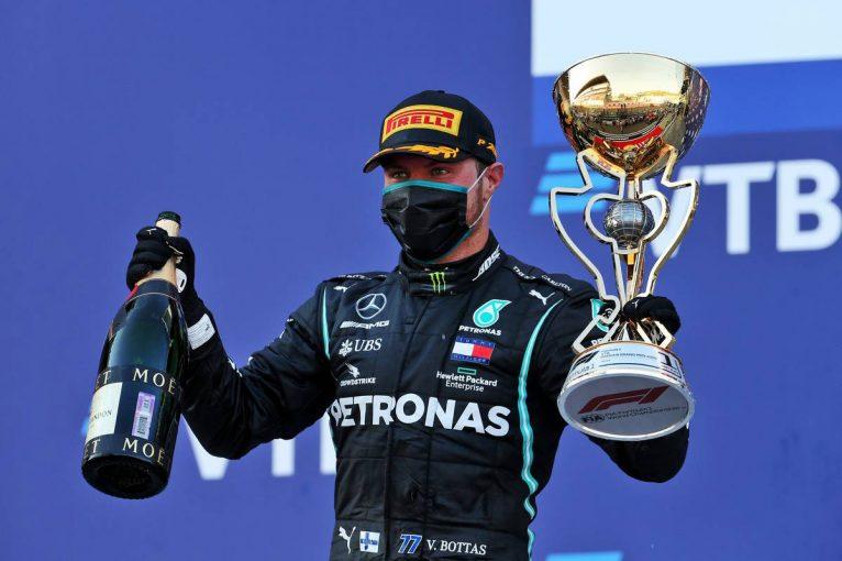 F1 | ボッタスが得意のソチで今季2勝目、最速ラップも記録。ホンダPU勢は全4台が入賞【決勝レポート/F1第10戦】