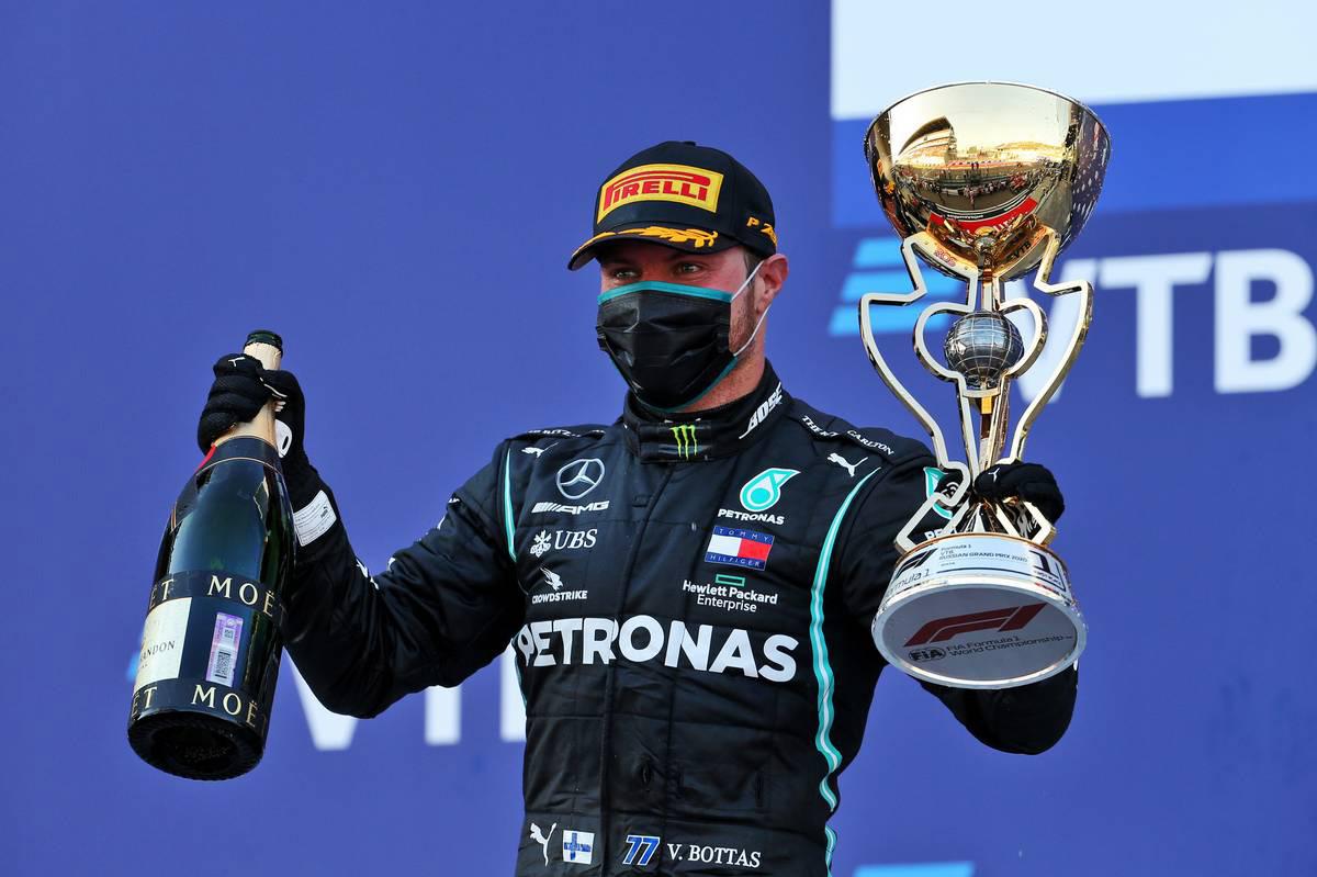 Photo of ボッタスが得意のソチで今季2勝目、最速ラップも記録。ホンダPU勢は全4台が入賞【決勝レポート/F1第10戦】   F1   autospor   オートスポーツweb