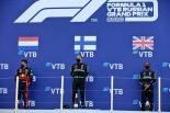 2020年F1第10戦ロシアGP 表彰式