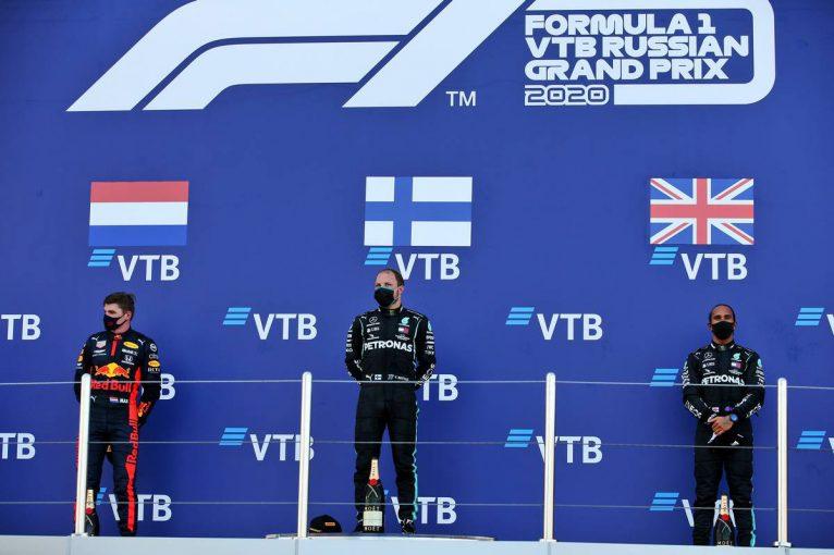 F1 | 【ポイントランキング】F1第10戦ロシアGP終了時点