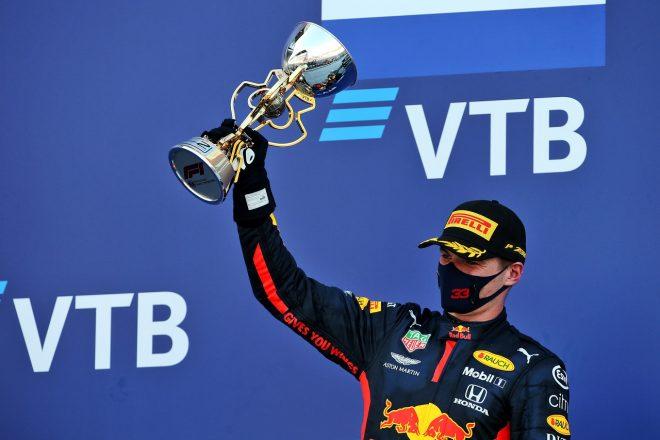2020年F1第10戦ロシアGP マックス・フェルスタッペン(レッドブル・ホンダ)が2位を獲得