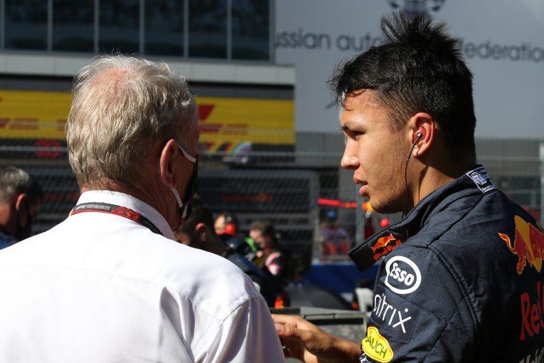 F1 | アルボン10位「降格ペナルティで苦労し1点獲得するのが精一杯だった」レッドブル・ホンダ【F1第10戦決勝】