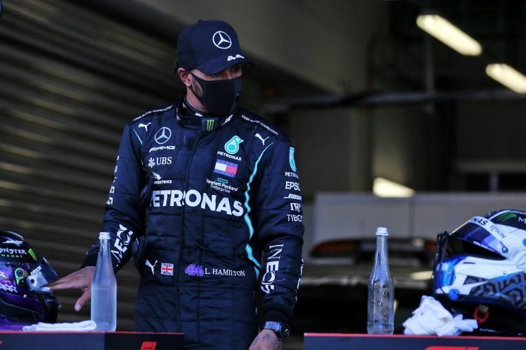 F1 | 厳罰に怒りのハミルトン。スチュワードはメルセデスの過失を認め、ペナルティポイントを撤回【F1第10戦決勝】