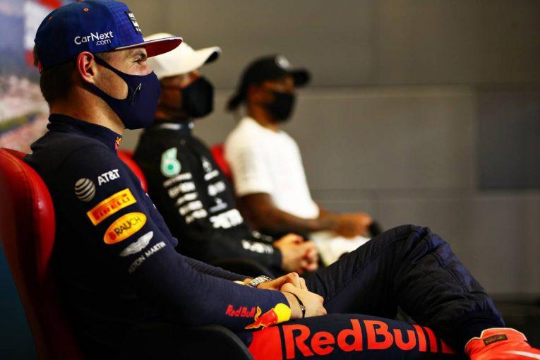 F1   【気になる一言】ハミルトンへの厳しいペナルティについて「次のブリーフィングで話し合いたい」とフェルスタッペン