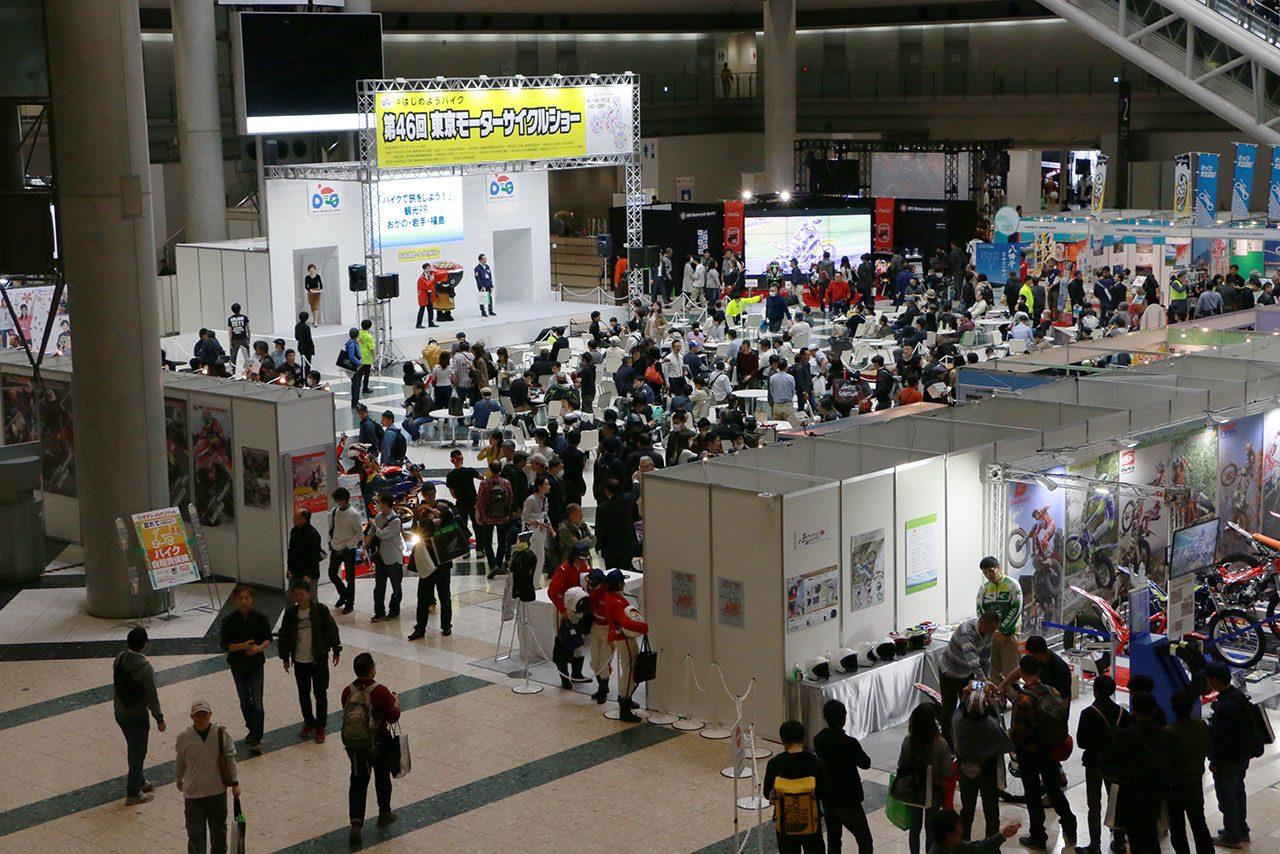 2021年の第48回東京モーターサイクルショーが中止に。2年連続新型コロナの影響で開催できず