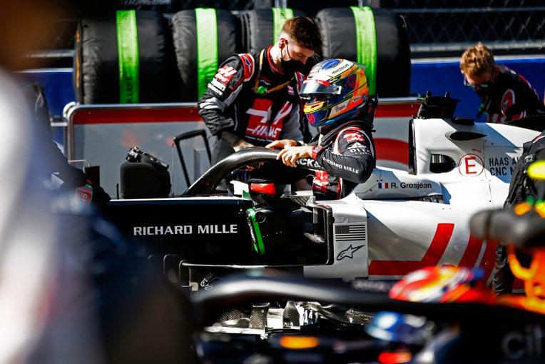 F1   グロージャン「入賞圏内に留まろうとしたが問題が再発。リヤがグリップしなかった」:ハース F1第10戦決勝