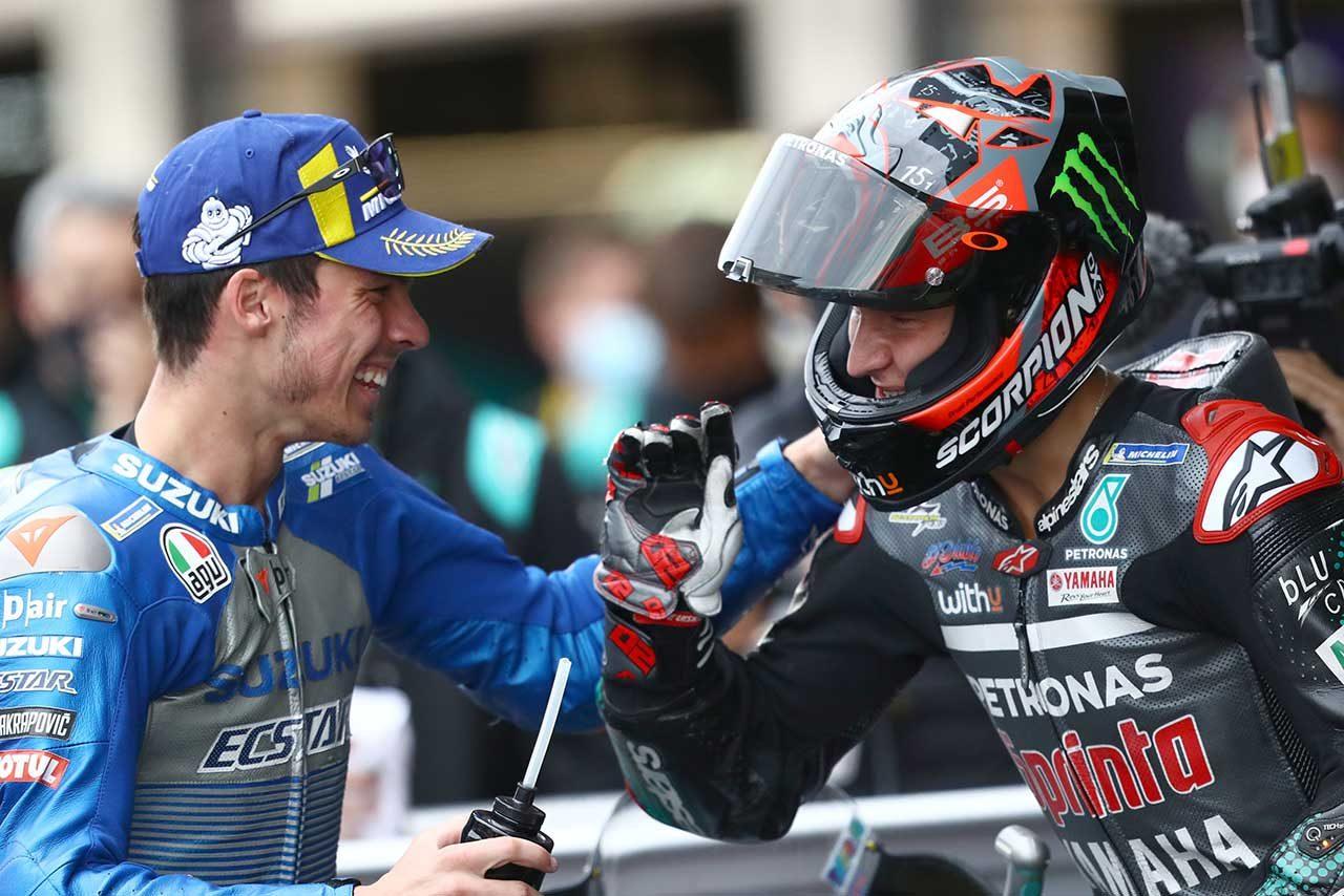 【レースフォーカス】序盤に攻めたクアルタラロとミル&リンスが最終周に刻んだラップタイム/MotoGP第9戦