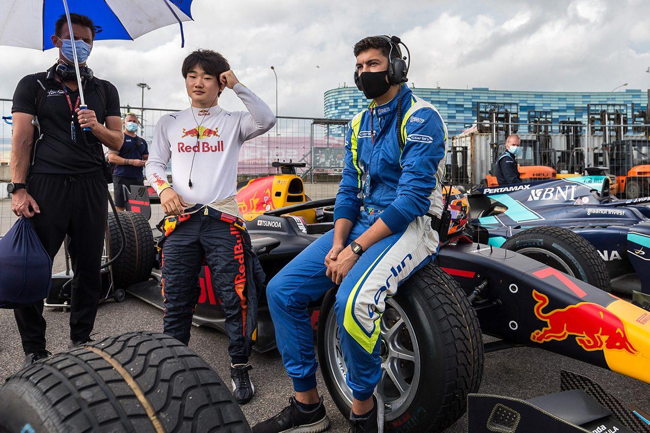 2020年FIA-F2第10戦ロシア 角田裕毅(カーリン)