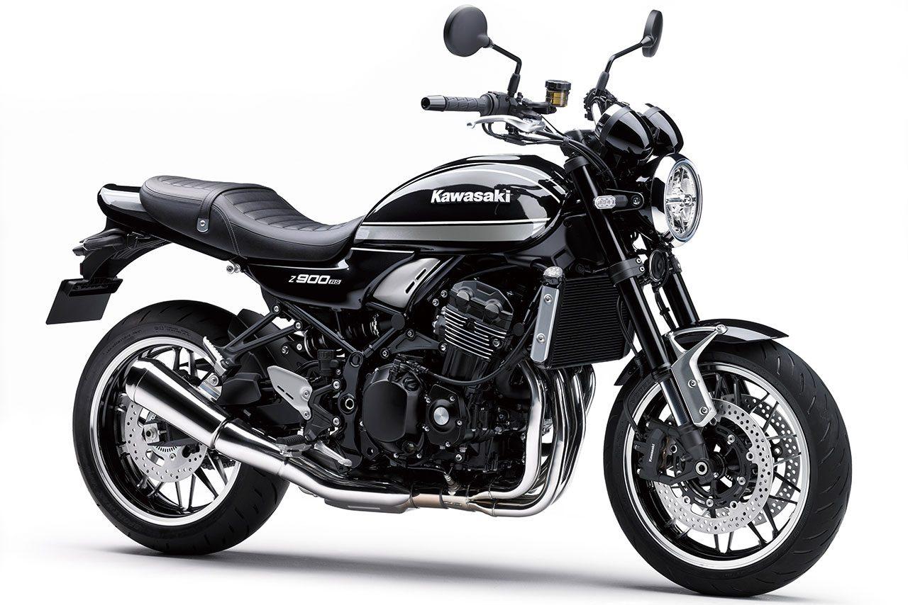 カワサキ、『Z900RS』および『Z900RS CAFE』のカラーとグラフィックを変更して発売