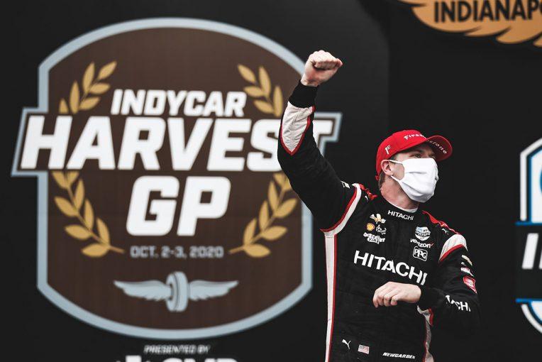 海外レース他 | インディ第12戦ハーベストGP詳報:ニューガーデン完勝でディクソンとの差を詰める。琢磨は我慢のレースに
