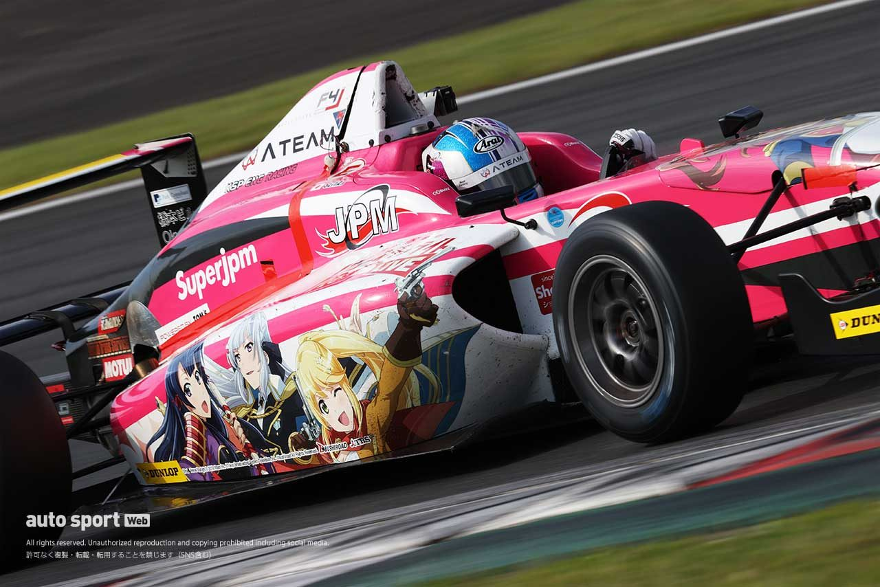 神晴也(ATEAM Buzz Racing F110)