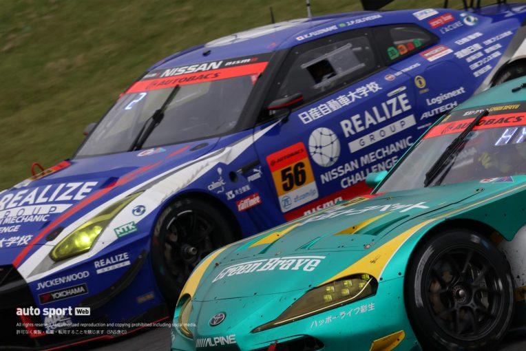 スーパーGT | リアライズ日産自動車大学校 GT-Rが初優勝。表彰台争いは最終周まで接戦に【第5戦富士GT300決勝】