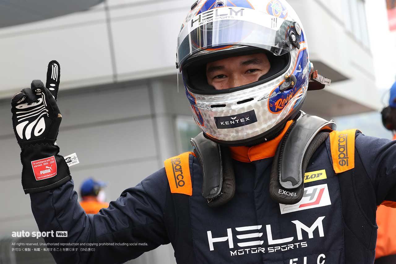 2020シーズン第1戦を制した平木玲次(HELM MOTORSPORTS F110)