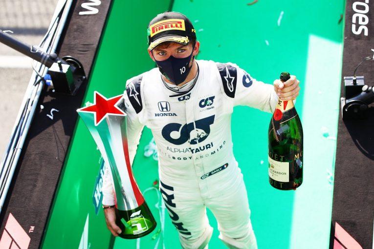 F1 | ガスリー、ホンダのF1活動終了を悲しむ「もっと勝利を重ねるため、最後まで一緒に頑張りたい」