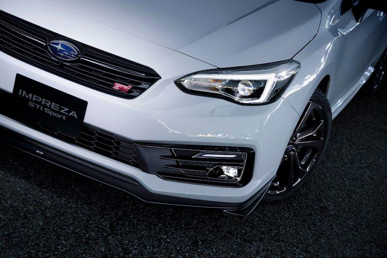 """クルマ   スバル・インプレッサ改良モデル、e-BOXER搭載車と最上級グレード""""STI Sport""""が登場"""