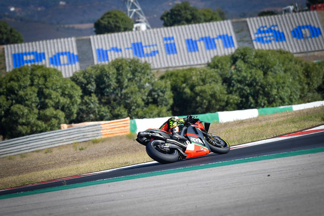 MotoGP:ポルティマオテスト2日目はテストライダーのみ走行。2021年用パーツのテストも