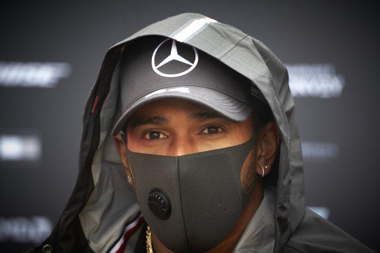 F1   ハミルトン「走行時間が減ったことで、よりエキサイティングな週末になる」メルセデス【F1第11戦金曜】