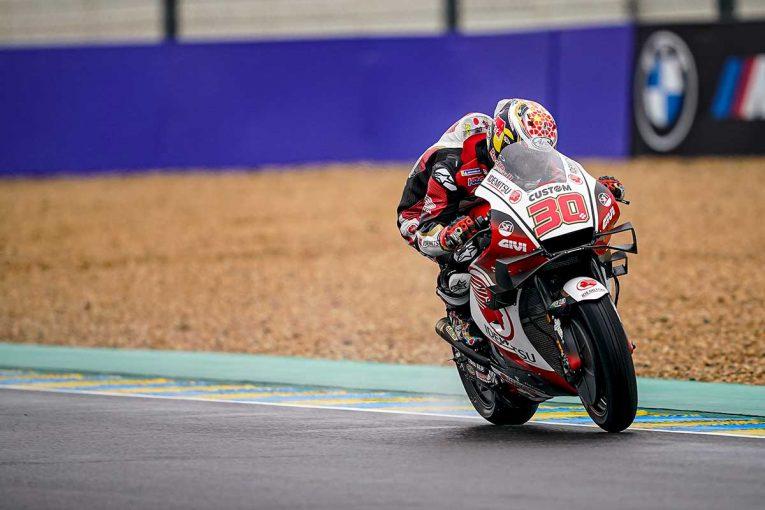 MotoGP | 中上「周回を重ねるごとにラップタイムを更新できた」/MotoGP第10戦初日トップ3コメント