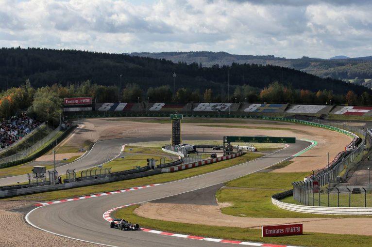 F1 | メルセデスがワンツー。ルクレールが3番手に続く【タイム結果】F1第11戦アイフェルGPフリー走行3回目