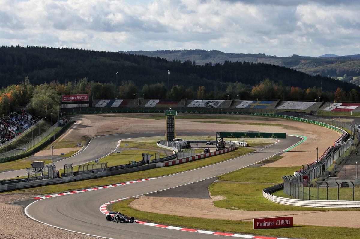 Photo of メルセデスがワンツー。ルクレールが3番手に続く【タイム結果】F1第11戦アイフェルGPフリー走行3回目 | F1 | autosport w | オートスポーツweb