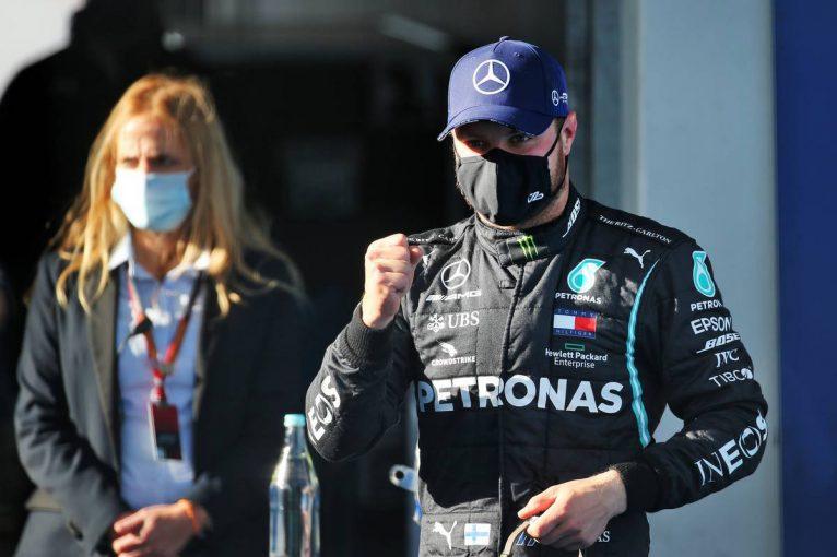 F1 | ボッタスが3度目のポールポジション獲得。フェルスタッペンは僅差で最前列逃す【予選レポート/F1第11戦】