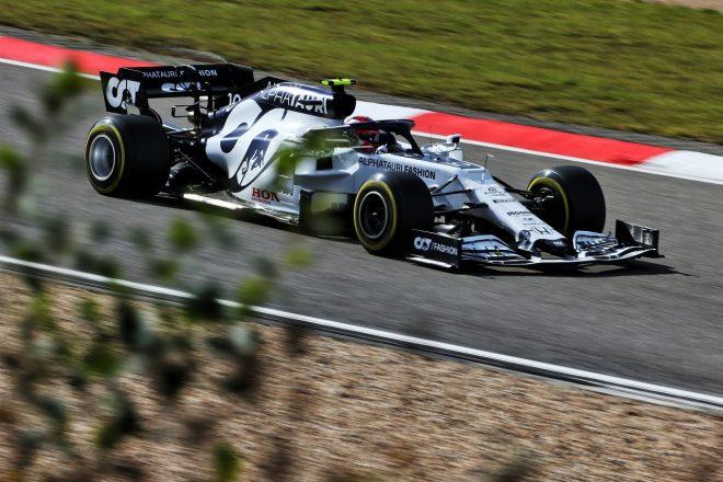 2020年F1第11戦アイフェルGP ピエール・ガスリー(アルファタウリ・ホンダ)