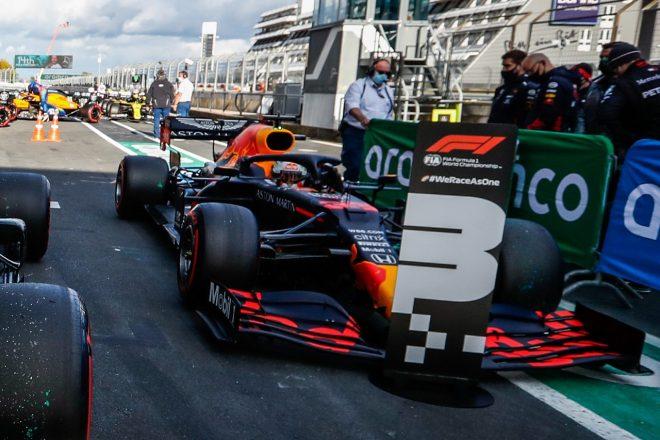 2020年F1第11戦アイフェルGP マックス・フェルスタッペン(レッドブル・ホンダ)が予選3番手を獲得