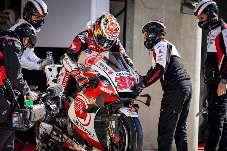 MotoGP | 中上「Q2進出は果たせなかったが、FP4でレースペースはかなりよくなった」/MotoGP第10戦フランスGP予選