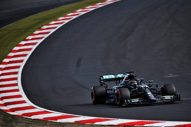 2020年F1第11戦アイフェルGP ルイス・ハミルトン(メルセデス)