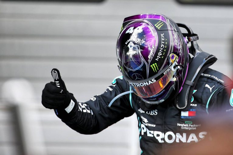 F1 | ハミルトンが皇帝シューマッハーに並ぶ通算91勝目。リカルドはルノーで初表彰台を獲得【決勝レポート/F1第11戦】