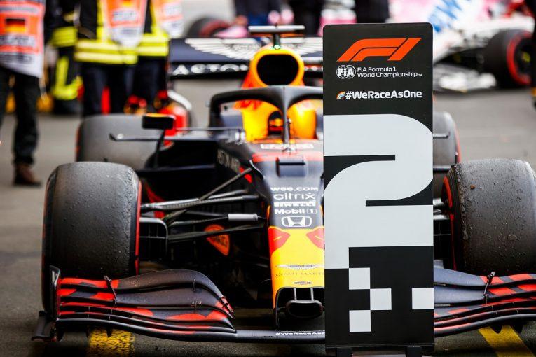 F1 | ホンダが10戦連続表彰台を獲得「ファステストラップも併せ、大きな励みになる結果」と田辺TD【F1第11戦】