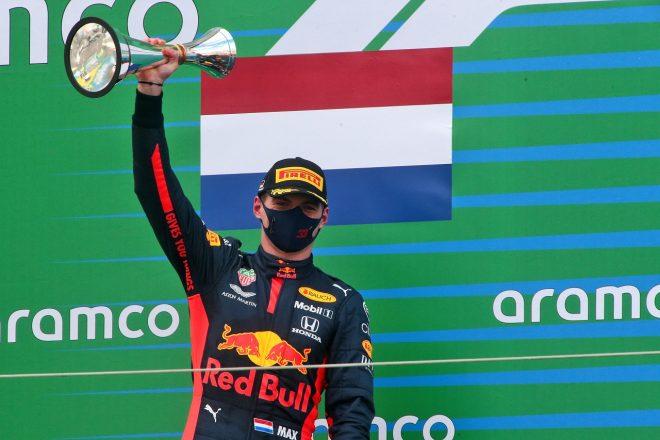 2020年F1第11戦アイフェルGP マックス・フェルスタッペン(レッドブル・ホンダ)が2位を獲得