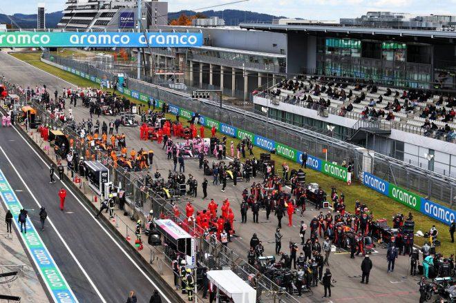 2020年F1第11戦アイフェルGP グリッド