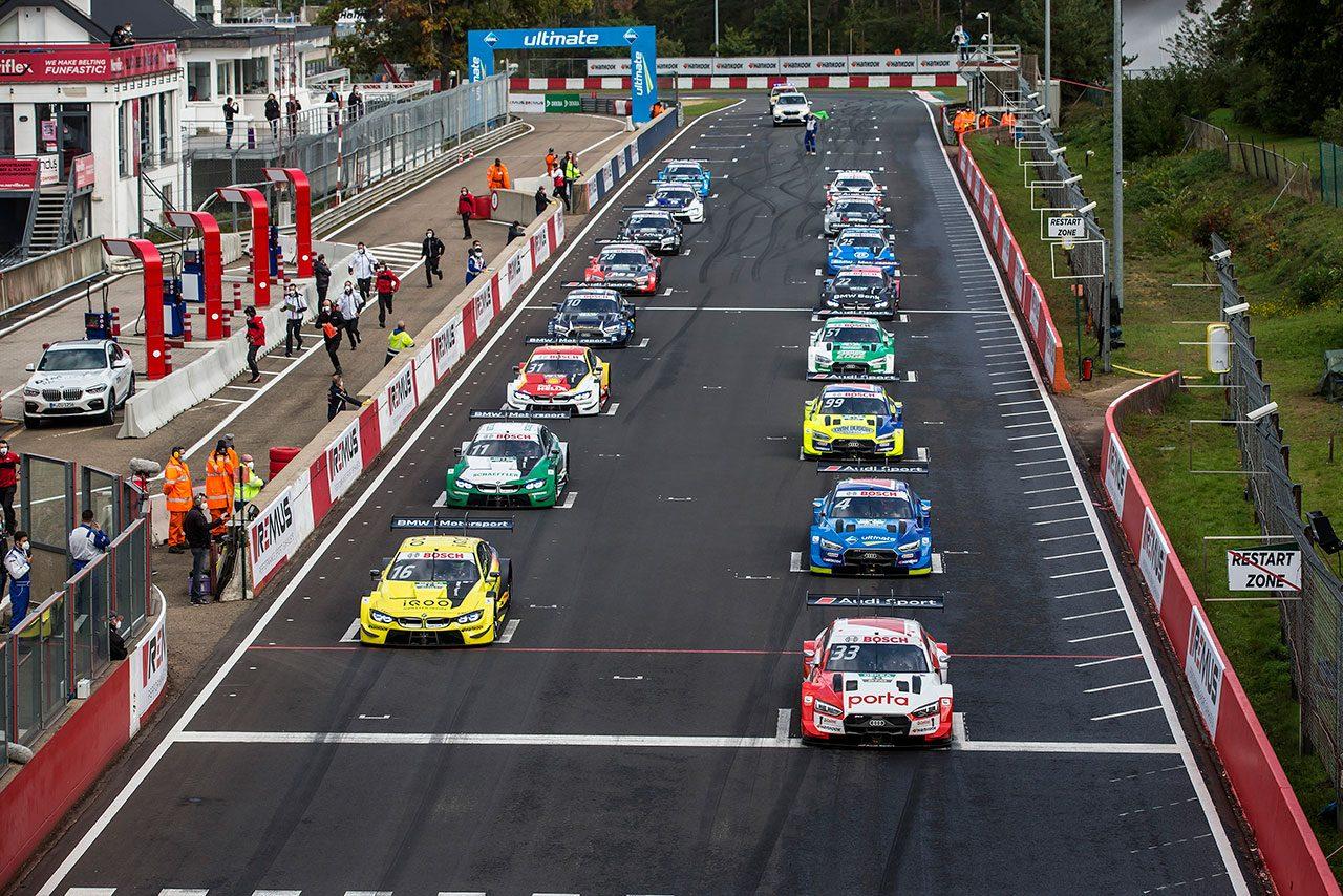 DTM第7戦ゾルダー:ラストがレース1をポール・トゥ・ウインで完勝