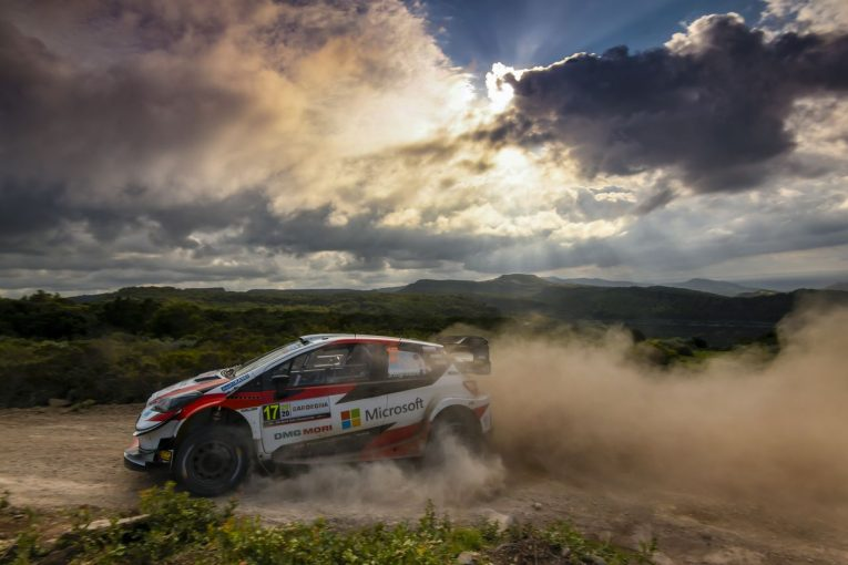 ラリー/WRC   WRCイタリア:トヨタ、オジエが総合3位フィニッシュ。4位完走のエバンスと選手権1-2守る