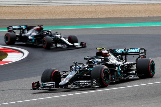 2020年F1第11戦アイフェルGP バルテリ・ボッタスとルイス・ハミルトン(メルセデス)