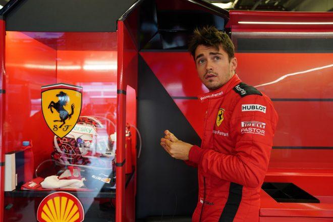 2020年F1第11戦アイフェルGP シャルル・ルクレール(フェラーリ)