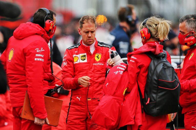 F1 | ベッテル11位「ポイントを持ち帰りたかったが、タイヤに苦しみとても厳しい一日に」フェラーリ【F1第11戦決勝】