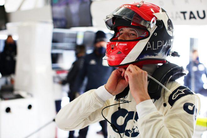2020年F1第11戦アイフェルGP ダニール・クビアト(アルファタウリ・ホンダ)