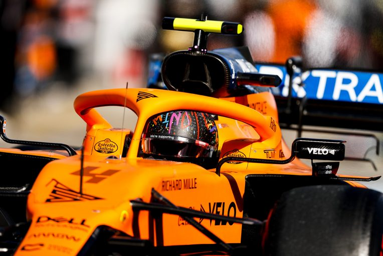 F1 | ノリス「表彰台を争える位置から下がる一方。大量得点の機会を逃した」:マクラーレン F1第11戦決勝