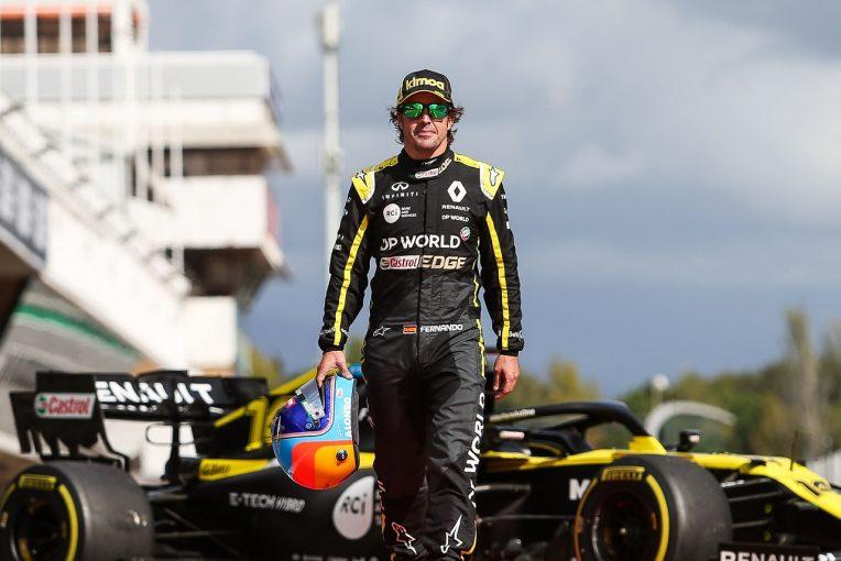F1 | F1復帰のアロンソが2020年型ルノーで初テスト「R.S.20のパフォーマンスはうれしい驚き」