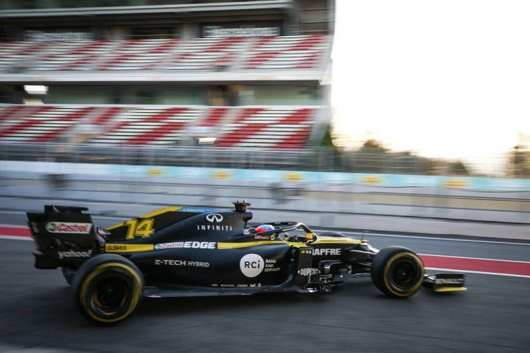 F1 | 【動画】アロンソがルノーR.S.20で初走行。F1復帰に向けて第一歩