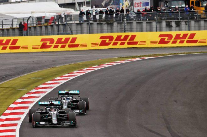 2020年F1第11戦アイフェルGP ルイス・ハミルトン&バルテリ・ボッタス(メルセデス)